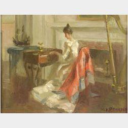 Marguerite Stuber Pearson (American, 1898-1978)  Old Brocade