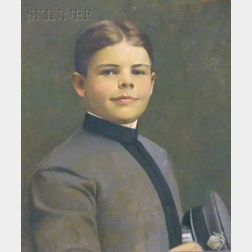 Allen Dean Cochran (American, 1888-1971) Lot of Three Family Military Portraits: Brinton Coopernail, Age 12, Dr. George Peters Coope...