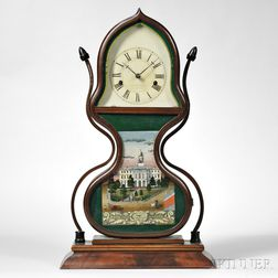 Forestville Mfg. Company Acorn Shelf Clock