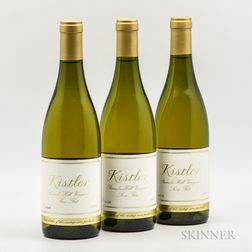 Kistler Parmelee Hill Stone Flat Chardonnay 2009, 3 bottles