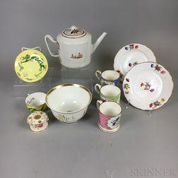 Ten Porcelain Items