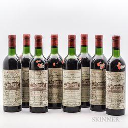 Chateau Bouscaut 1959, 8 bottles