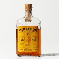 Old Taylor 4 Years Old 1934, 1 pint bottle