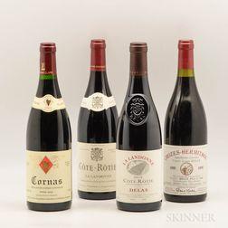 Mixed Northern Rhone Wines, 4 bottles