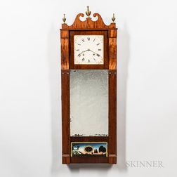 Joseph Ives Looking Glass Wall Clock