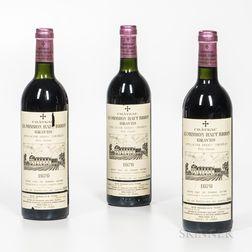 Chateau La Mission Haut Brion 1979, 3 bottles