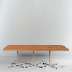 Frank Gehry (Canadian/American, b. 1929) MIT Dining Hall Table