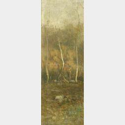 John Francis Murphy (American, 1853-1921)  The Three Trees