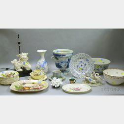 Twenty-seven Pieces of Assorted Collectible and Decorative Ceramics