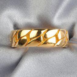 18kt Gold Band, Van Cleef & Arpels