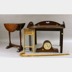 Five Assorted Furniture and Decorative Items