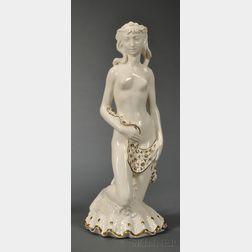 Wedgwood Queen's Ware Figure of Aphrodite