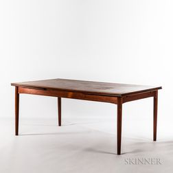 Peter Hvidt & Orla Mølgaard for Soborg Mobler Teak Refectory Dining Table