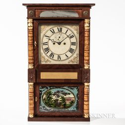 Richard Ward Salem Bridge Shelf Clock