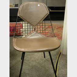 Charles Eames Wire Bikini Side Chair.