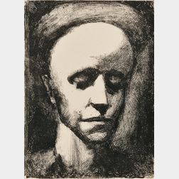 Georges Rouault (French, 1871-1958)      Autoportrait