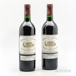 Chateau Margaux 1998, 2 bottles