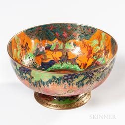 Wedgwood Flame Fairyland Lustre Punch Bowl