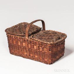 Miniature Double-top Basket