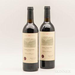 Araujo Eisele Vineyard Cabernet Sauvignon 1995, 2 bottles
