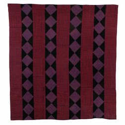 Linsey-Woolsey Pieced Quilt