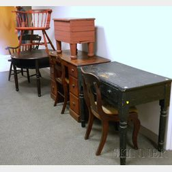 Eight Pieces of Assorted Furniture