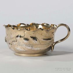 George Shiebler Sterling Silver-gilt Cup