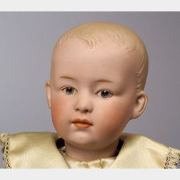 Heubach Bisque Socket Head Character Doll