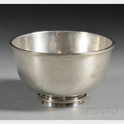 Margret Craver (1907-2010) Handwrought Silver Bowl