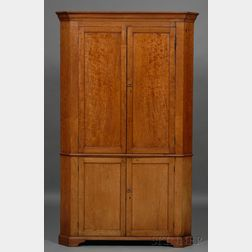 Federal Cherry Corner Cupboard