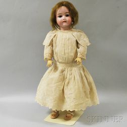 C.M. Bergmann Bisque Head Girl Doll