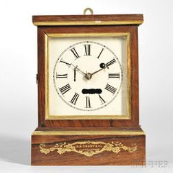 S.B. Terry Torsion Cottage Clock