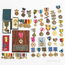Group of WWI, WWII, and Post-war Medals