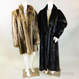 Two Fur Coats