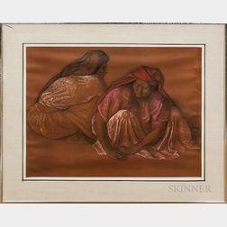 Three Framed Francisco Zuniga Photo Lithographs