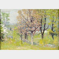 John Joseph Enneking (American, 1841-1916)      Spring