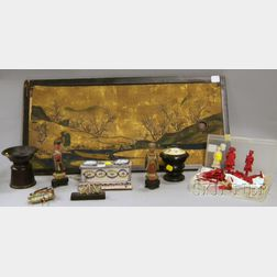 Group of Assorted European and Asian Decorative Items