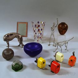 Group of Modern Decorations