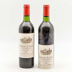 Chateau Ausone 1975, 2 bottles