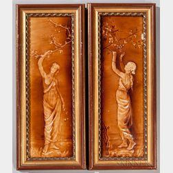 Trent Tile Co. Tile Portraits of Summer and Autumn