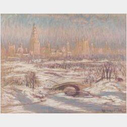William Samuel Horton (American, 1865-1936)  Towers Shadows