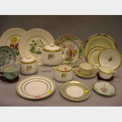 Eighty-seven Pieces of English Ceramic Tableware