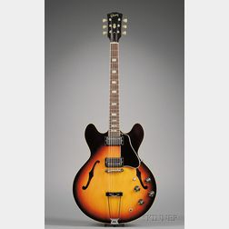 American Electric Guitar, Gibson Incorporated, Kalamazoo, c. 1969, Model ES-335TD
