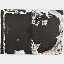 Robert Motherwell (American, 1915-1991)      Lament for Lorca
