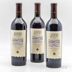 Jones Family Cabernet Sauvignon 1999, 3 bottles