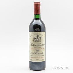 Chateau Montrose 1989, 1 bottle