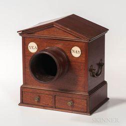 Mahogany Ballot Box