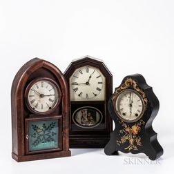 Jerome, Brewster & Ingraham, and Seth Thomas Shelf Clocks