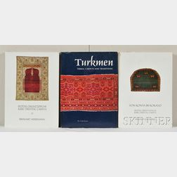 Five Oriental Rug Books