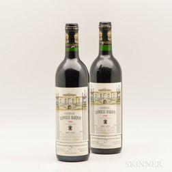 Chateau Leoville Barton 1990, 2 bottles